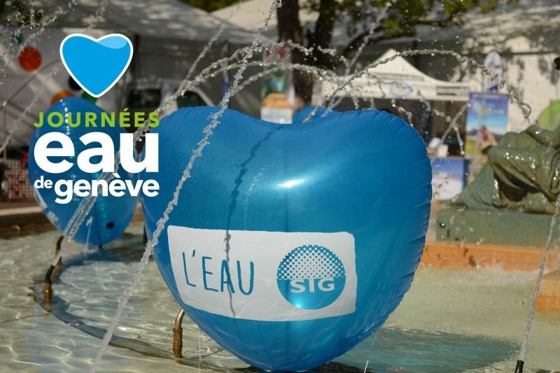 Venez aux Journées Eau de Genève les 6 et 7 mai