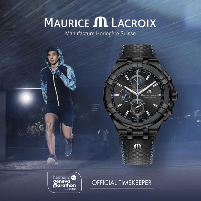 Maurice Lacroix, célèbre horloger suisse, devient partenaire du Harmony Genève Marathon for Unicef
