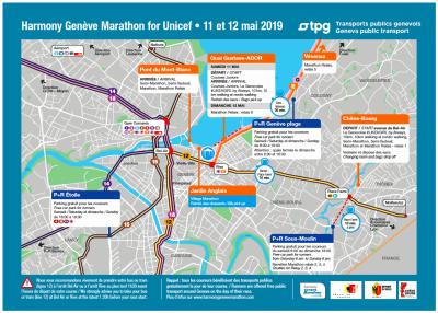 Accès et transport jusqu'au Village Marathon