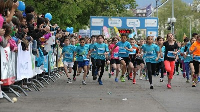 Less than 6 monthes before the challenging harmony geneva marathon for unicef