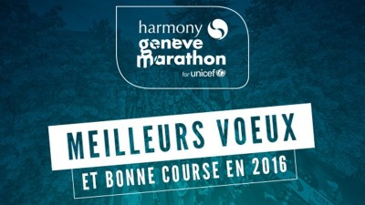Make the Harmony Geneva Marathon for Unicef your 2016 New Year's Resolution