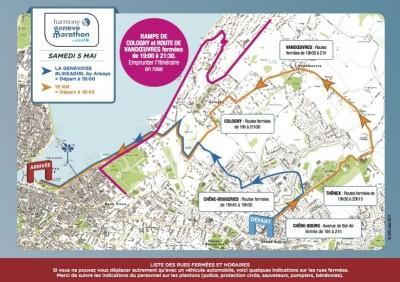 Fermeture des routes les 5 et 6 mai