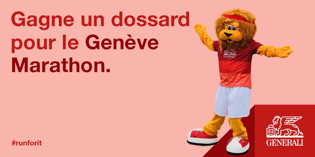 Win 1 of 6 tickets for the Harmony Geneva Marathon for Unicef