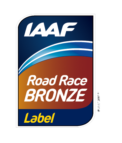 Label Bronze IAAF
