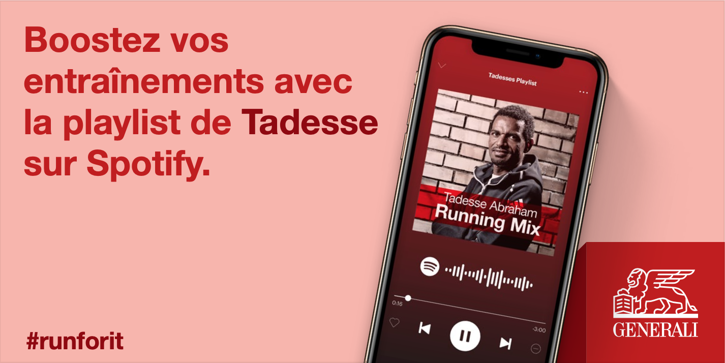 Get Tadesse Abraham's running playlist!